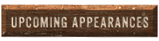 Texas Chainsaw Carver - Upcoming Appearances